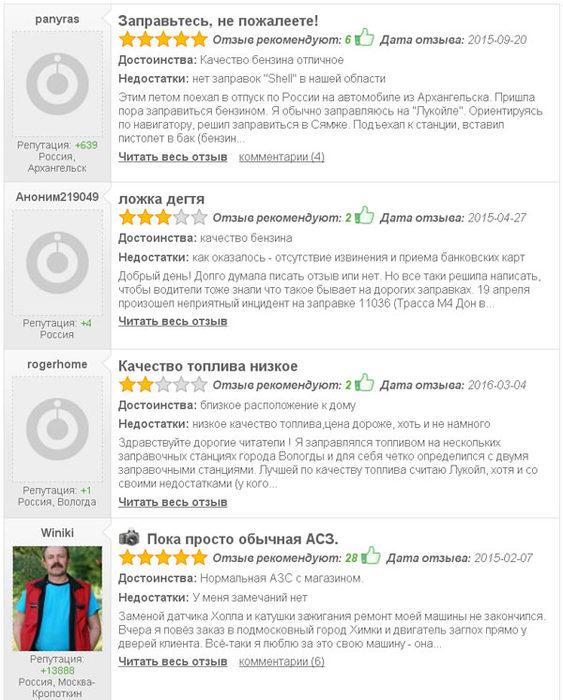 Сеть АЗС Shell (Россия, Красногорск) - Пока просто обычная АСЗ