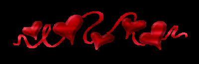 сердечки (400x130, 22Kb)