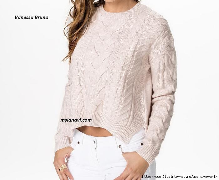Вязаный-пуловер-спицами-от-Vanessa-Bruno-перед (700x574, 200Kb)