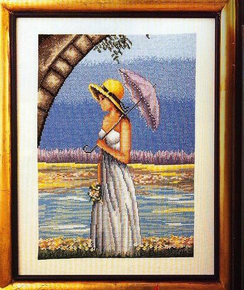 Senora con sombrilla (485x576, 459Kb)
