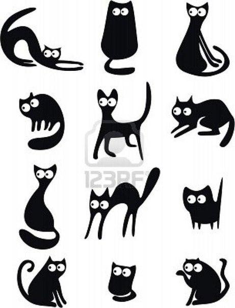 кошки (461x604, 113Kb)