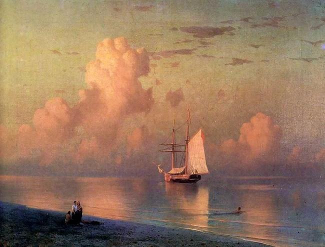 Закат, 1866 (650x494, 296Kb)