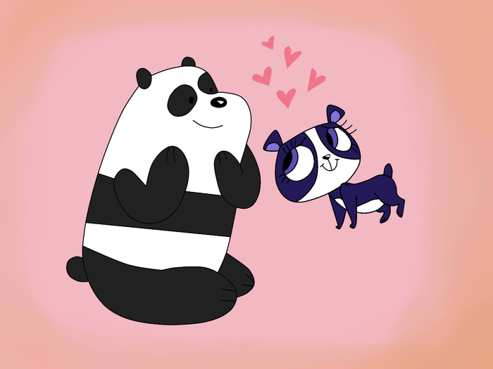 Panda and Penny Ling (700x525, 111Kb)