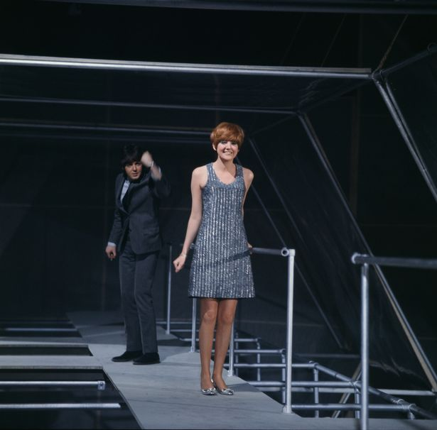 Paul McCartney and Cilla Black