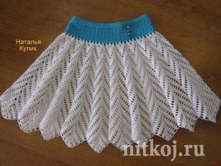 Вязание пышных юбок крючком