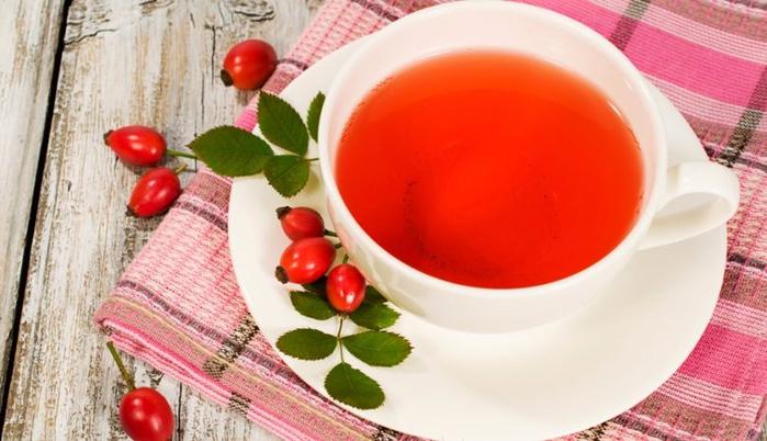 шиповник - чай из листьев (500x300, 301Kb)