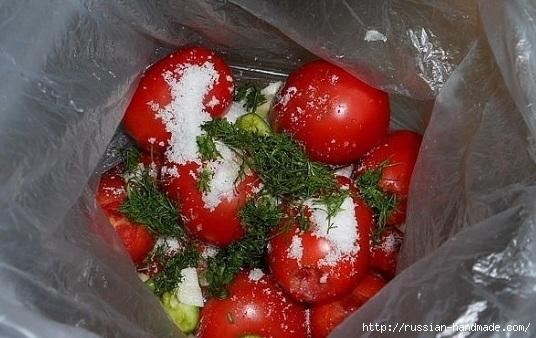 Как засолить помидоры в пакетах (2) (536x338, 142Kb)