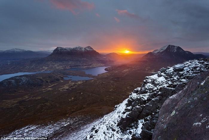 Камилло Беренос и великолепные пейзажи Шотландии