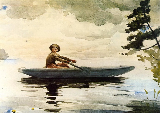 The Boatsman, 1891 (644x455, 318Kb)