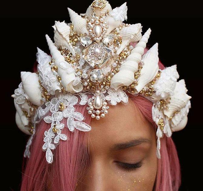 короны из морских ракушек Chelsea Shiels 1 (670x632, 311Kb)