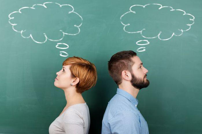 Мужской и женский взгляд на совместную жизнь