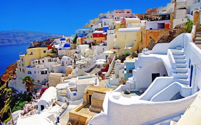 9. Санторини, Греция (700x437, 439Kb)
