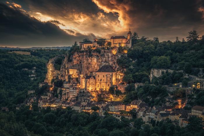 17. Рокамадур, Франция (700x467, 519Kb)