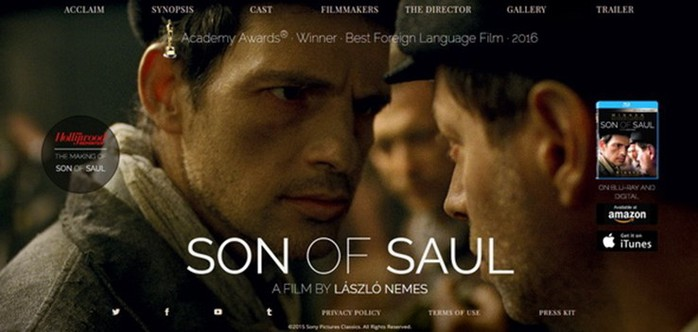 Сайты фильмов, которые были номинированы на Оскар