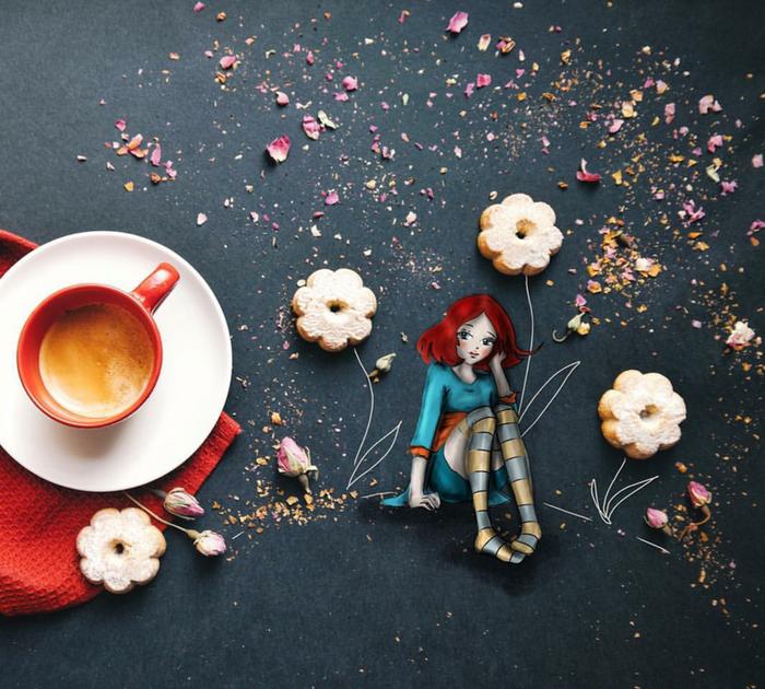 кофейные картинки Cinzia Bolognesi 1 (700x630, 682Kb)