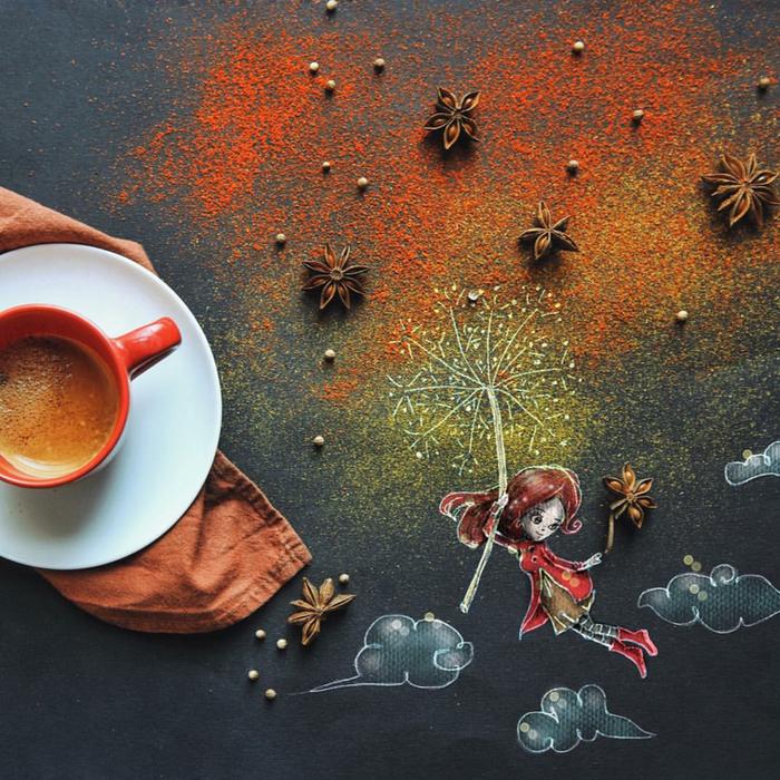 кофейные картинки Cinzia Bolognesi 7 (700x700, 911Kb)