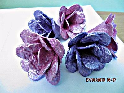 Цветы из ячеек для яиц. Мастер-класс (3) (400x300, 132Kb)
