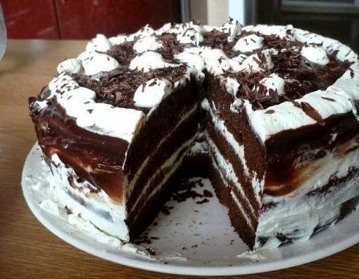 шоколадно-творожный торт (510x397, 167Kb)
