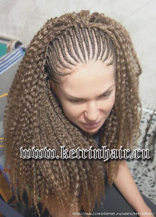 Сенегальские косы материал для плетения