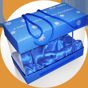 Современный дизайн картонных коробок.