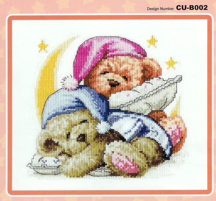 Вышивка для детей мишка 97
