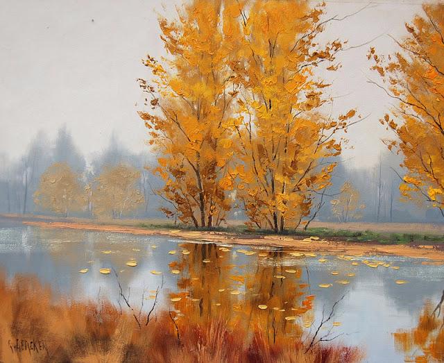 Graham Gercken 1960 -  Australian Impressionist Landscape painter - Tutt'Art@ (48) (640x523, 440Kb)