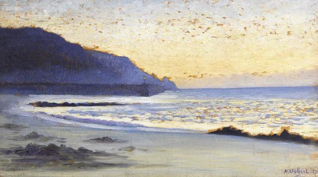 La Mer a Siouville, 1890 (The_sea_siouville) (642x358, 281Kb)