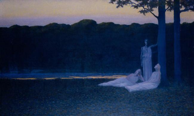 Вечер поэзии, 1897 (650x391, 209Kb)