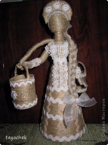 Куклы из шпагата своими руками мастер класс фото