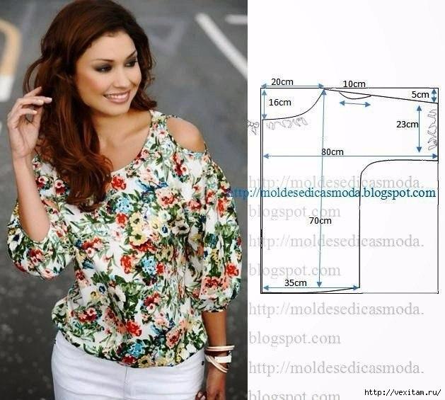 блузки (629x565, 197Kb)