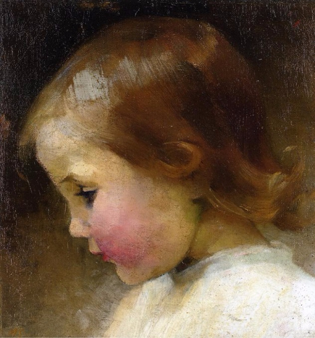 Profile of a Girl 1887 (631x679, 384Kb)