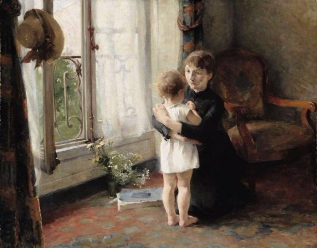 Мать и дитя, 1886 (634x495, 260Kb)