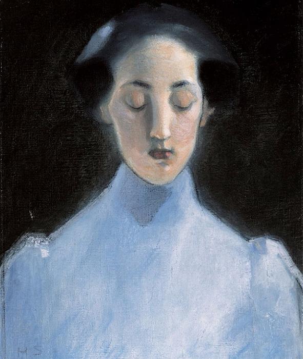 Безмолвие (Stilhet), 1907 (591x700, 393Kb)