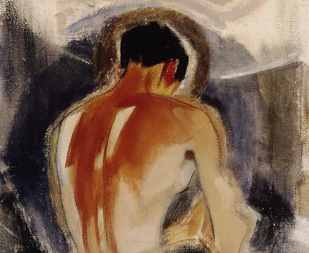 Разбойник у ворот рая, 1924-25 (633x517, 404Kb)