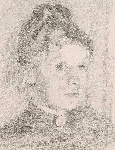 Автопортрет, 1880-84 (400x520, 232Kb)