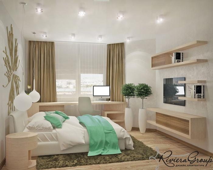 Стиль минимализм и эко в дизайне городской квартиры15 (700x557, 296Kb)