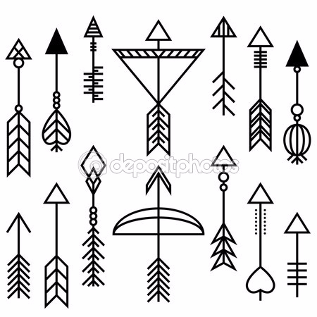 depositphotos_90629178-Arrows-and-bow-set (450x450, 121Kb)