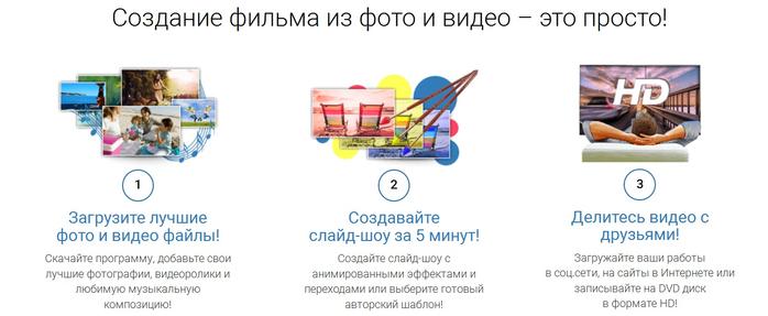 Созданию на программу слайдшоу русском по
