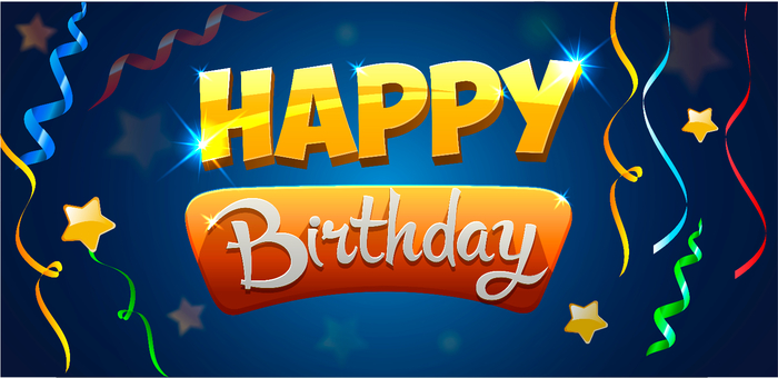 Greeting card Happy Birthday (700x340, 245Kb)