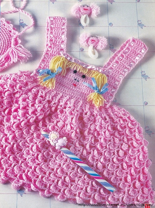 Детское вязание крючком и