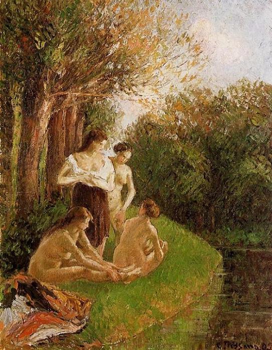 Bathers, 1895 (543x700, 514Kb)