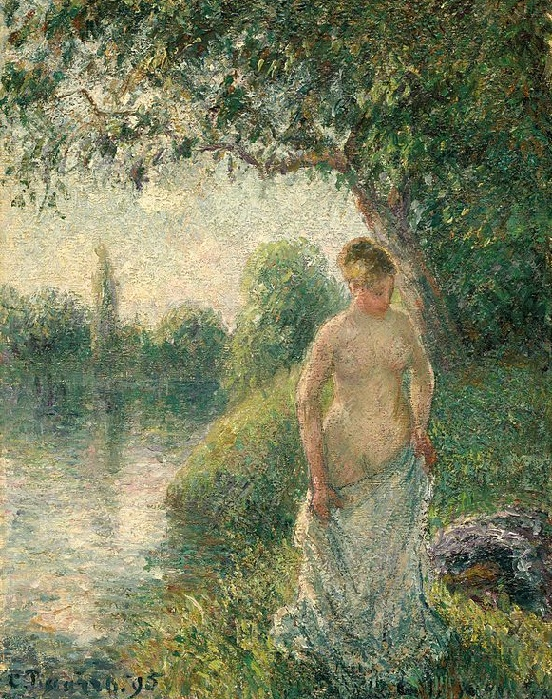 The Bather, 1895 (552x699, 643Kb)