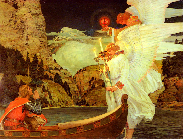Waugh-Frederick-Judd-The-Knight-Of-The-Holy-Grail (700x531, 602Kb)
