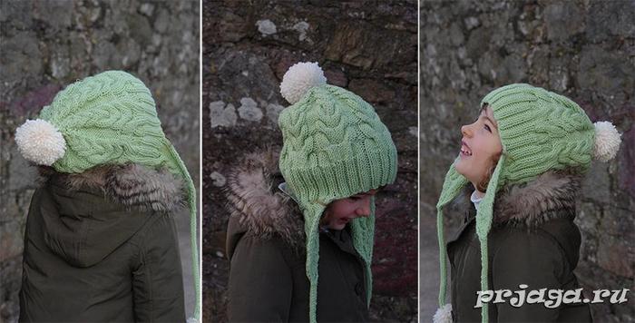 Детская шапка «Я люблю косы»4 (700x356, 232Kb)