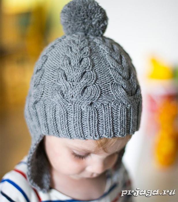 Детская шапка «Я люблю косы»8 (617x700, 332Kb)