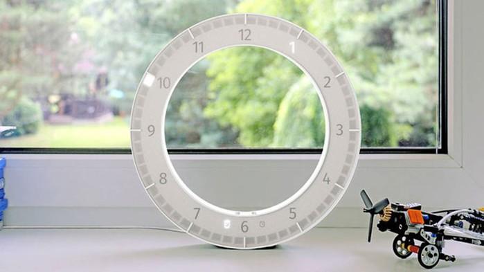 Минималистичные часы The Only Clock