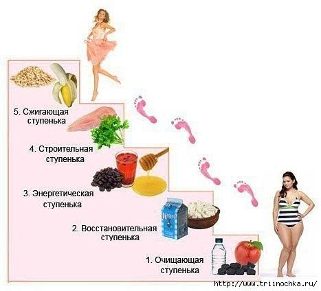 Простая и полезная диета - ЛЕСЕНКА!/4059776_Etapi__Lesenka (467x424, 77Kb)