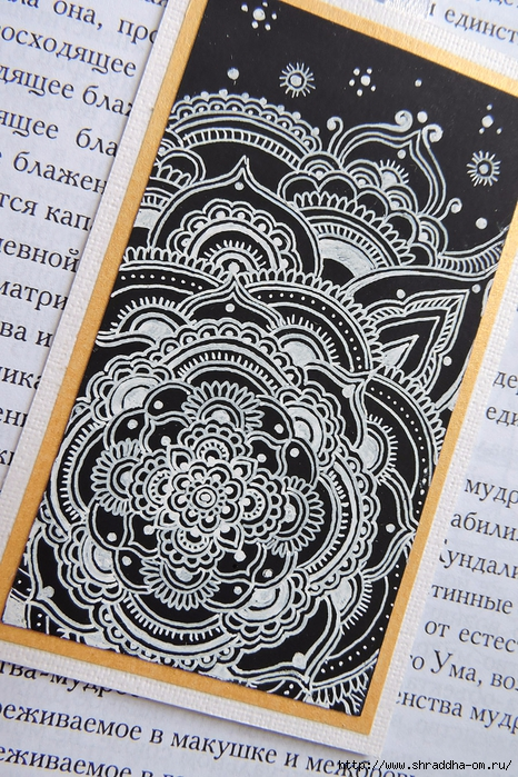 закладка для книг от Shraddha (3) (466x700, 414Kb)
