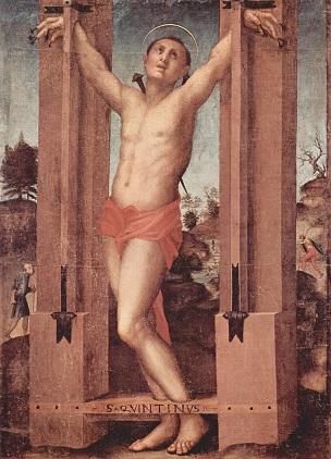 St. Quintinus - Джакопо Понтормо (304x422, 68Kb)
