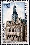 Yt FR 1955 Saint Quentin. The City Hall 1967г (106x158, 19Kb)
